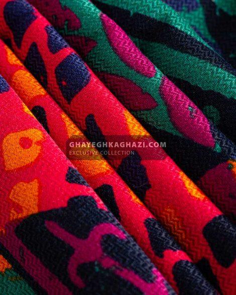روسری پاییزه انیگما - مدل 7221 بافت